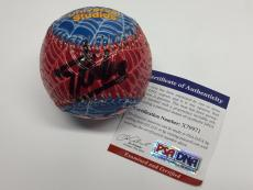 Stan Lee Signed Universal Studios Spider-Man Baseball *Marvel  PSA X79971