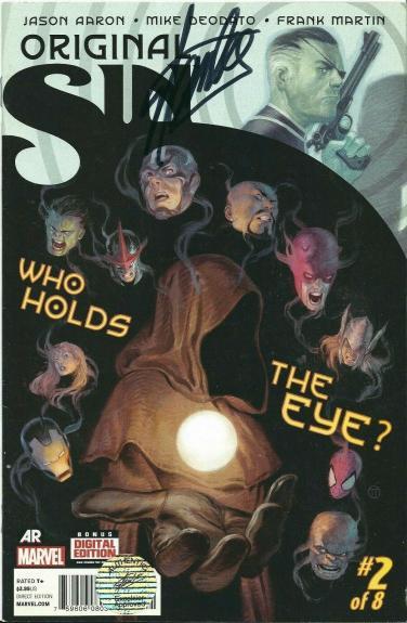 Stan Lee Signed Original Sin:Who Holds The Eye? Comic Book Marvel *Excelsior COA