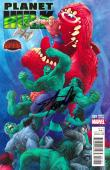 Stan Lee Signed Planet Hulk #1 Secret Wars Variant Cover Comic Book - Blue Cover