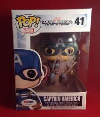 Stan Lee signed POP Marvel Captain America Bobble-Head Figure PSADNA  #X72568