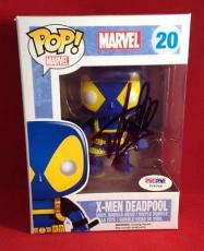 Stan Lee signed POP Marvel Deadpool Bobble-Head Figure PSADNA  #Y09248