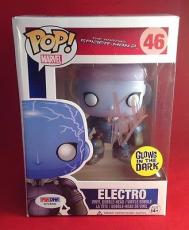 Stan Lee signed POP Marvel Electro Bobble-Head Figure PSADNA  #X72556