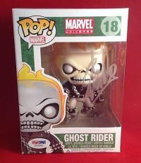 Stan Lee signed POP Marvel Ghost Rider  Bobble-Head Figure PSADNA  #X72561