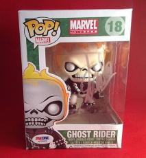 Stan Lee signed POP Marvel Ghost Rider  Bobble-Head Figure PSADNA  #X72563