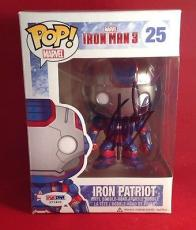 Stan Lee signed POP Marvel Iron Patriot Vinyl Bobble-Head Figure PSADNA  #X72402