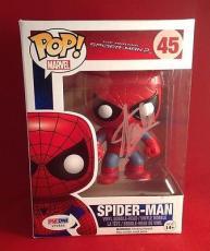 Stan Lee signed POP Marvel Spider-Man Bobble-Head Figure PSADNA  #X72550