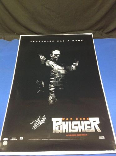 Stan Lee Signed Punisher: War Zone 27x40 Movie Poster - PSA/DNA # Y09273