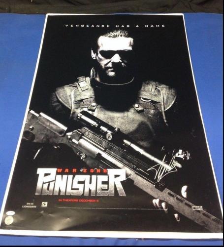 Stan Lee Signed Punisher: War Zone 27x40 Movie Poster - PSA/DNA # Y09274