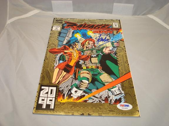 Stan Lee Signed Ravage 2099 Comic Book Marvel Comics Autographed PSA/DNA COA 1A