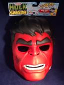 Stan Lee signed Red Hulk Hero Mask PSA/DNA  # X72423