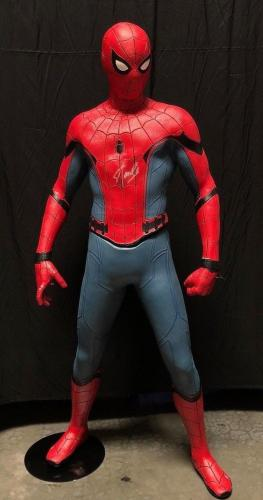 Stan Lee Signed Spider-Man 1:1 Scale Life Size NECA Figure/Statue BAS