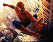 Stan Lee Signed Spider-Man 11X14 Photo Marvel Comics PSA/DNA 9