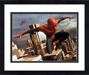 Stan Lee Signed Spider-Man 16X20 Photo Marvel Comics PSA/DNA 15