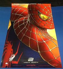Stan Lee Signed Spider-Man 2 27x39 Movie Poster - PSA/DNA # X08357