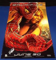 Stan Lee Signed Spider-Man 2 27x39 Movie Poster - PSA/DNA # X08358