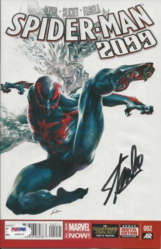 Stan Lee Signed Spider-Man 2099 #2 (2014) - PSA/DNA # X08197
