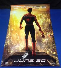 Stan Lee Signed Spider-Man 27x39 Movie Poster - PSA/DNA # X08352