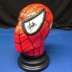 Stan Lee Signed Spider-Man Bust - PSA/DNA # Y09279