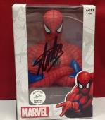 Stan Lee signed Spider Man Coin Bank w/ Stan Lee Hologram