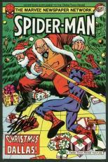 Stan Lee Signed Spider-Man Comic Book Dallas Herald Promo Kingpin PSA #W18728