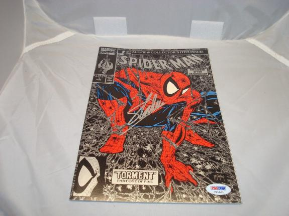 Stan Lee Signed Spider-Man Comic Book Torment Silver PSA/DNA COA Autographed 1B