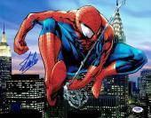 Stan Lee Signed Spider-Man Marvel Comics Authentic 11x14 Photo PSA/DNA #2