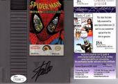 STAN LEE Signed Spider-Man Nintendo Return Of The Sinister Six Game JSA #P12408