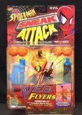 Stan Lee signed Spider Man Sneak Attack Web Flyers w/ Stan Lee Hologram