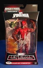 Stan Lee signed Spider-Man Spawn of Symbiotes Figure PSADNA  #Y10273