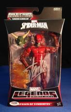 Stan Lee signed Spider-Man Spawn of Symbiotes Figure PSA/DNA  #Y10273