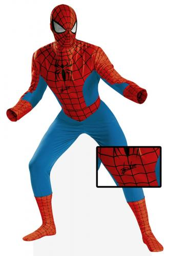 Stan Lee Signed Spiderman Fullsize Outfit