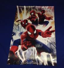 """Stan Lee signed Spiderman Poster 24""""x36"""" Stan Lee Hologram"""
