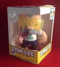 Stan Lee signed Stan Lee Chibi-Style Vinyl  Figure PSADNA  #X72605
