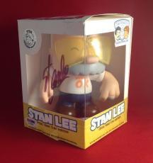 Stan Lee signed Stan Lee Chibi-Style Vinyl  Figure PSA/DNA  #X72606