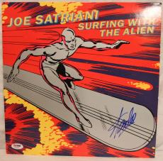 "STAN LEE Signed ""Surfing With The Alien"" Album LP PSA/DNA #Z22638"