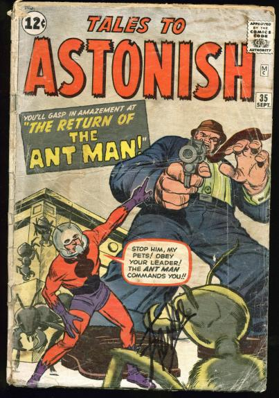 Stan Lee Signed Tales To Astonish #35 Comic Book PSA/DNA #Z05347