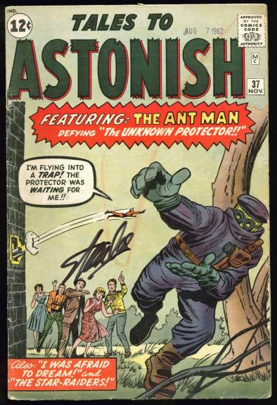 Stan Lee Signed Tales To Astonish #37 Comic Book PSA/DNA #Z05344