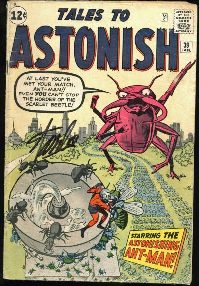 Stan Lee Signed Tales To Astonish #39 Comic Book PSA/DNA #Z05345