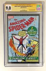 Stan Lee Signed The Amazing Spider-man #1 Cgc Ss 9.0 Dallas Comic Con Edition