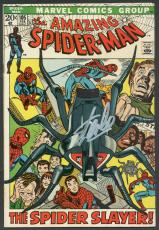 Stan Lee Signed The Amazing Spider-Man #105 Comic Book PSA #6A20927