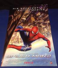 Stan Lee Signed The Amazing Spider-Man 2 27x39 Movie Poster - PSA/DNA # X08353