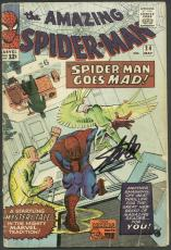 Stan Lee Signed The Amazing Spider-Man #24 Comic Book PSA/DNA #6A20955