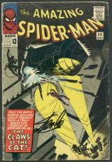 Stan Lee Signed The Amazing Spider-Man #30 Comic Book The Cat PSA/DNA #6A20956