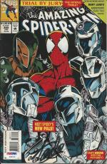 Stan Lee Signed The Amazing Spider-Man #385 (1994) - PSA/DNA # X08164
