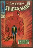 Stan Lee Signed The Amazing Spider-Man #50 Comic Book PSA/DNA #6A20918