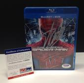Stan Lee Signed The Amazing Spider-Man Blu-Ray Movie Cover - PSA/DNA # Y36005