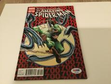 Stan Lee Signed The Amazing Spider-Man Comic Book Variant Edition 700 PSA/DNA