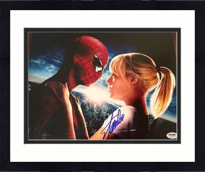 Stan Lee Signed The Amazing Spiderman 1 2 3 11x14 Photo w/ PSA/DNA COA #3