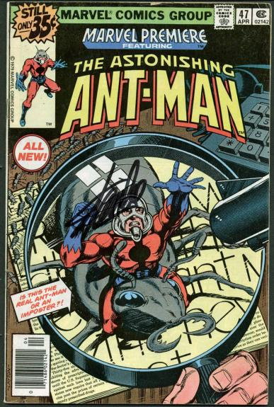 Stan Lee Signed The Astonishing Ant-Man #47 Comic Book PSA/DNA #Z04184