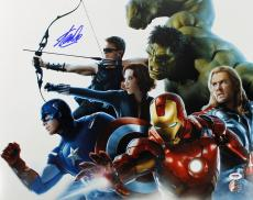 Stan Lee Signed The Avengers 16X20 Photo Autographed PSA/DNA
